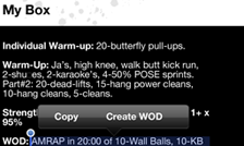 Quickly creating a WOD from RSS feed